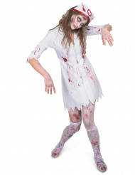 Déguisement infirmière zombifiée femme