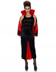 Déguisement comtesse Dracula velours femme