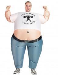 Déguisement gonflable fitness adulte