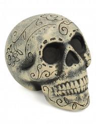 Décoration crâne Dia de los muertos 12 x 16 cm