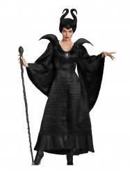 Déguisement sorcière maléfique noire femme Halloween