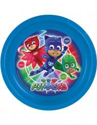 Assiette plastique Pyjamasques™ 21 cm