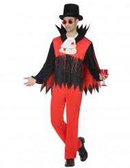 Déguisement vampire ensanglanté homme Halloween
