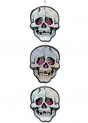 Décoration à suspendre Squelettes 55 cm