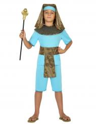 Déguisement pharaon bleu garçon