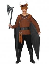 Déguisement chef de tribu viking homme