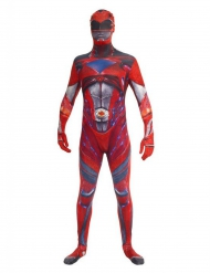 Déguisement combinaison rouge Power Rangers™ deluxe adulte Morphsuits™
