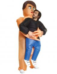Déguisement homme porté par nudiste adulte Morphsuits™