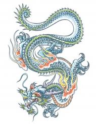 Tatouage ephémere corps dragon adulte