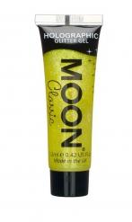 Gel à paillettes jaunes 12 ml Moonglow ©
