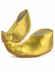 Sur-chaussures dorées sultan adulte