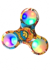 Hand spinner Comics lumineux