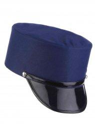 Képi bleu gendarme adulte