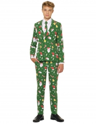 Costume Mr. Santaboss adolescent Opposuits™ Noël