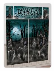 Kit de décoration murale 5 pièces Halloween hanté