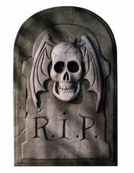 Décoration cartonnée Pierre tombale Halloween 29 x 46 cm