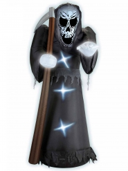 Faucheuse gonflable et lumineuse 244 cm Halloween