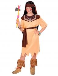 Déguisement princesse de tribu fille