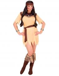 Déguisement princesse de tribu femme