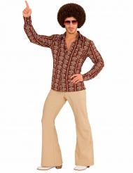 Chemise groovy old school années 70 homme