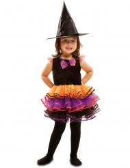 Déguisement sorcière fantaisie fille Halloween