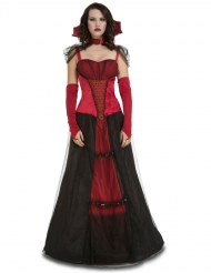 Déguisement demoiselle vampire femme Halloween