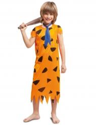 Déguisement préhistoire orange garçon