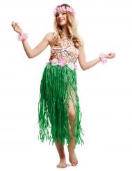 Déguisement hawaïenne chic femme