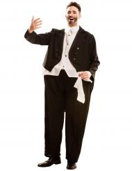 Déguisement humoristique chanteur d'opéra adulte