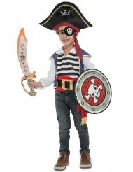 Déguisement pirate avec accessoires enfant