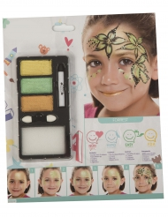 Maquillage princesse forêt fille