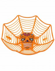 Saladier orange Dia de lors muertos 26 cm