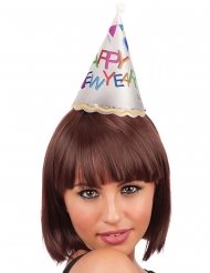 Mini Chapeau lumineux Happy New Year adulte