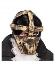 Masque prisonnier doré adulte