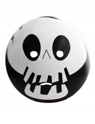 Masque emoticonne squelette adulte