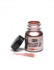Poudre professionnelle effet métal  rose Mehron™ 14g