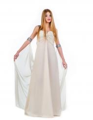 Déguisement robe de princesse blanche femme