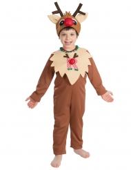 Déguisement Rennes de Noël enfant