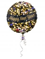 Ballon aluminium happy new year 43 cm
