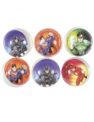 6 Balles rebondissantes Justice League ™