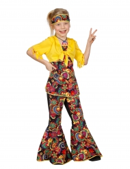 Déguisement disco hippie fille