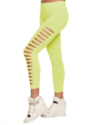 Legging troué vert adulte