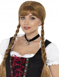 Collier ras-de-cou noir bavarois femme