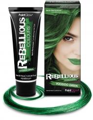 Teinture semi permanente pour cheveux verte 70 ml