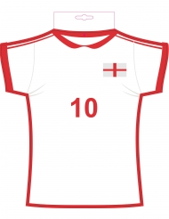 Cut out Maillot Angleterre 31 x 33 cm