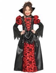 Déguisement noble comtesse vampire fille Halloween