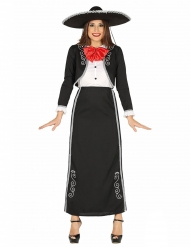 Déguisement mexicaine longue femme