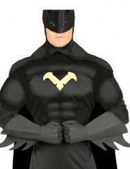 Gants super héros noir adulte