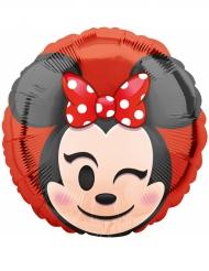 Ballon aluminium  Minnie Mouse ™ Emoji ™ 43 cm