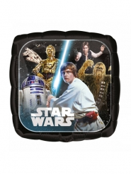 Ballon aluminium carré Star Wars ™ 43 cm